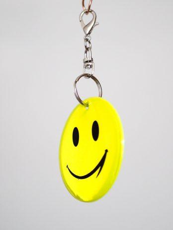 Odblask uśmiechnięty